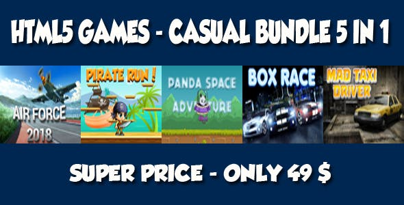Casual 5 games - Bundle 2