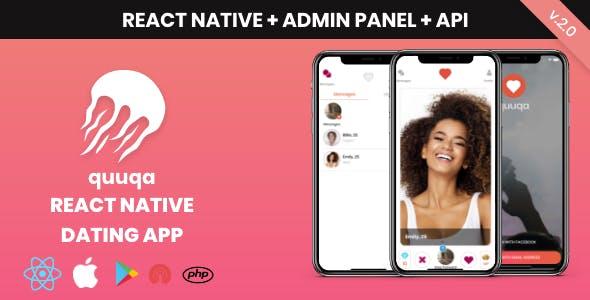 quuqa: React Native Dating App