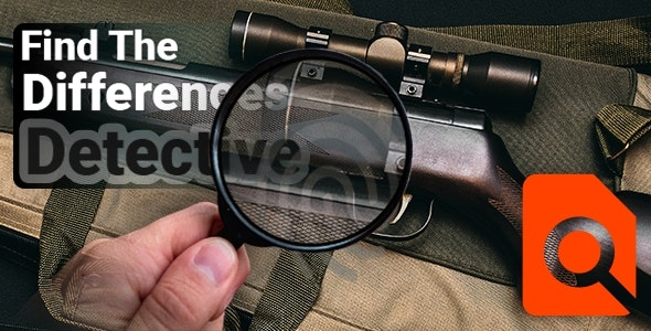 Find The Differences Detective - Unity Project - CodeCanyon Item for Sale