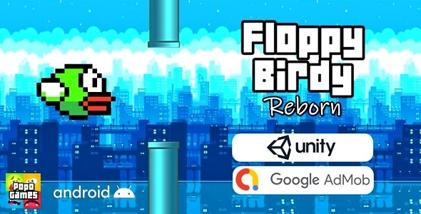 Floppy Birdy Reborn (Unity Game) - CodeCanyon Item for Sale