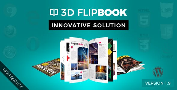 WordPress FlipBook
