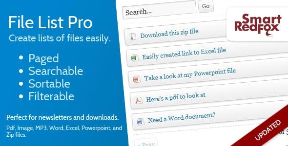 File List Pro