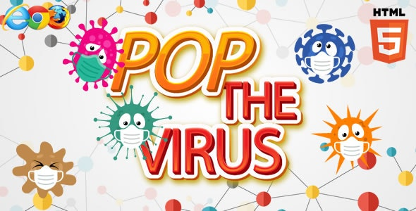 Pop the Virus - HTML5 Game (capx) - CodeCanyon Item for Sale