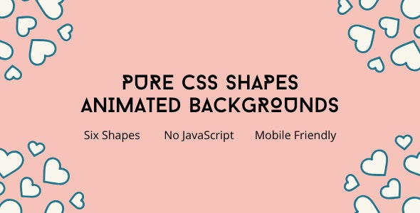 Pure CSS Animation Background Effect - CodeCanyon Item for Sale
