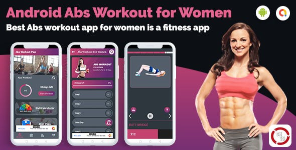 Abs Workouts & Fitness For Women (30 days Workout Plan)
