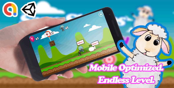 Save Sheeps - Funny Unity Android Game