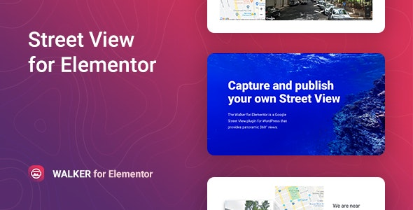 Google Street View for Elementor – Walker - CodeCanyon Item for Sale