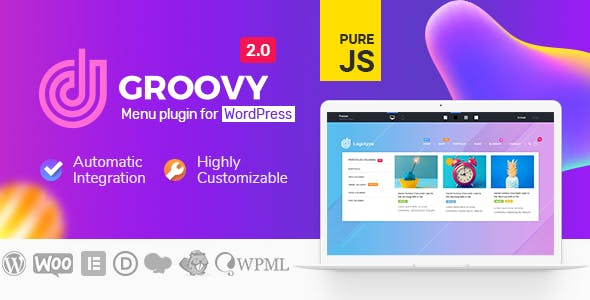 Groovy Mega Menu - Responsive Mega Menu Plugin for WordPress