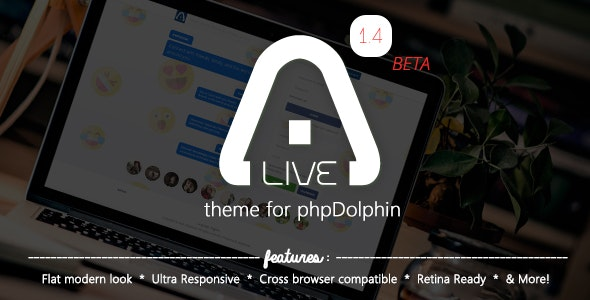 Alive Theme for phpSocial