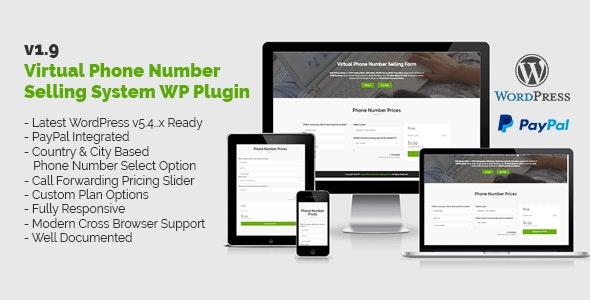 Virtual Phone Number Selling System WordPress Plugin - CodeCanyon Item for Sale