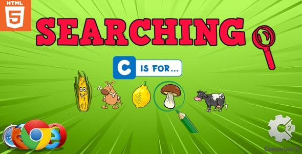 Searching - HTML5 - Educational Game