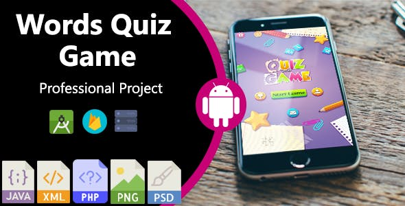 Words Quiz Game