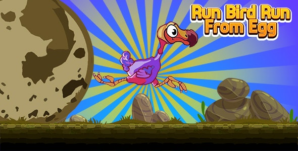 Run Bird Run from the Egg (CAPX and HTML5) - CodeCanyon Item for Sale