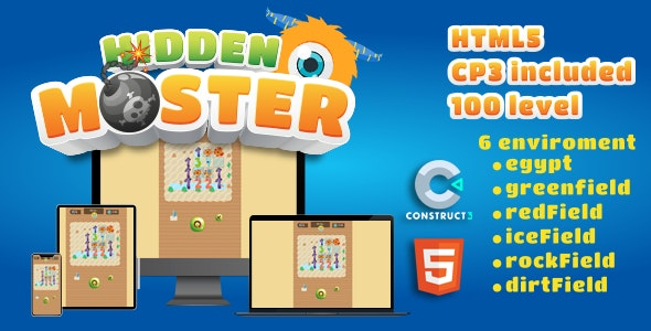 Hidden Monster - CodeCanyon Item for Sale