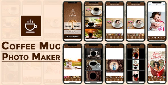 Coffee Mug Photo Maker IOS (Objective C) - CodeCanyon Item for Sale