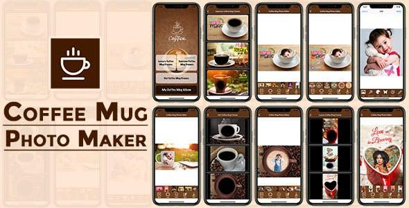 Coffee Mug Photo Maker IOS (Objective C)