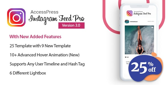AccessPress Instagram Feed Pro - WordPress Responsive Instagram Feeds Plugin - CodeCanyon Item for Sale