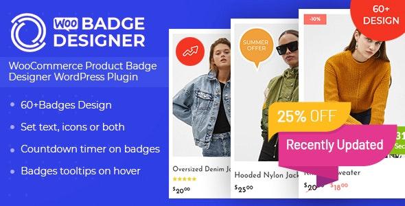Woo Badge Designer - CodeCanyon Item for Sale