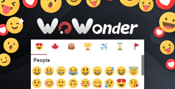Emoji / Emoticons - The Ultimate WoWonder Emoji / Emoticons Plugin