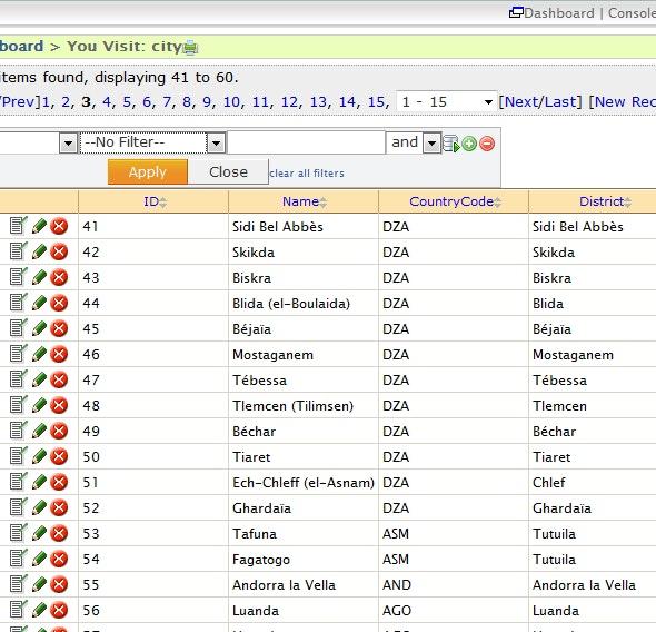 MySQL Database Navigation and Pagination - CodeCanyon Item for Sale