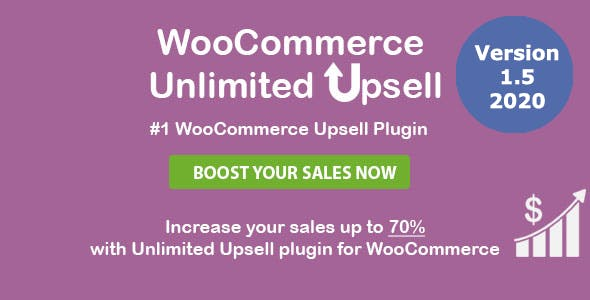 WooCommerce Unlimited Upsell & Cross sell