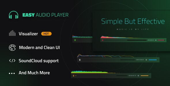 Easy Audio Player - CodeCanyon Item for Sale