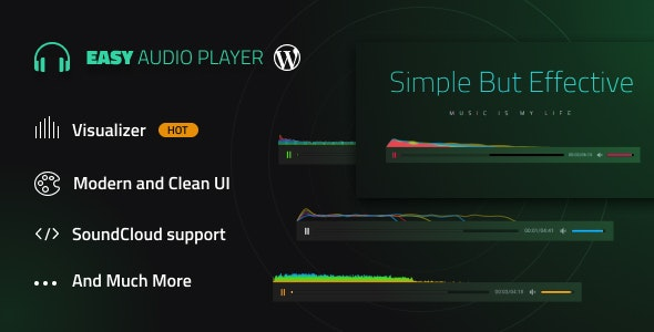 Easy Audio Player Wordpress Plugin - CodeCanyon Item for Sale