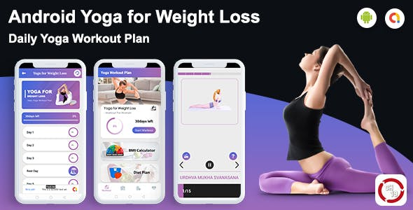 Yoga for Weight Loss(30 days Yoga Plan)