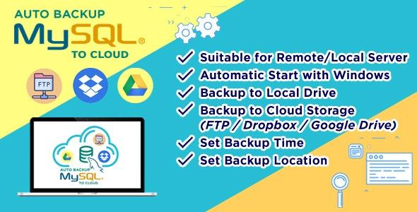 Auto Backup MySQL to Cloud - CodeCanyon Item for Sale