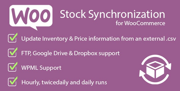 Stock Synchronization for WooCommerce - CodeCanyon Item for Sale