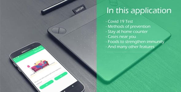 Covid19 / Corona - Tracker & stay Home counter & more
