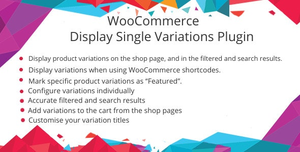 WooCommerce Show Single Variations Plugin - CodeCanyon Item for Sale