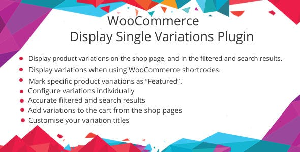 WooCommerce Show Single Variations Plugin