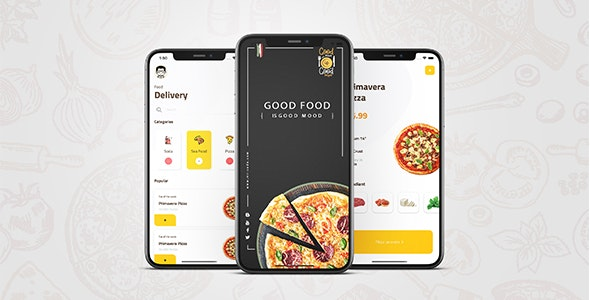 Good Food Good Mood - Waleed - CodeCanyon Item for Sale