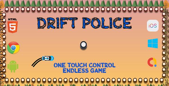 Drift Police - HTML5 Game