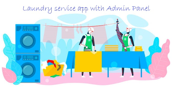 Laundry Services - Online laundry service android app - CodeCanyon Item for Sale