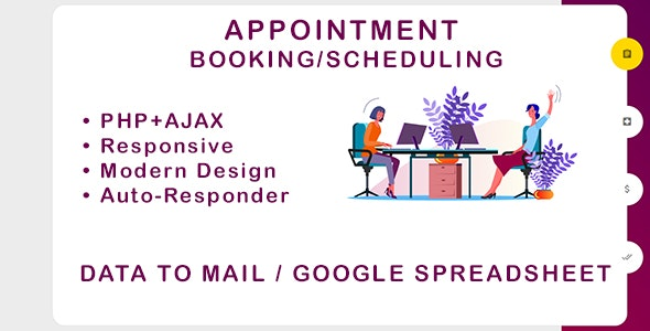 Appointment Booking and Scheduling - CodeCanyon Item for Sale