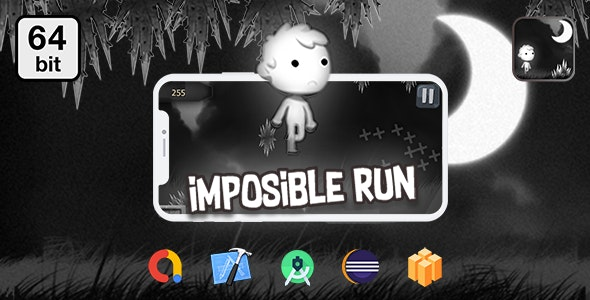 Imposible RUN 64 bit - Android IOS With Admob - CodeCanyon Item for Sale