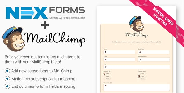 MailChimp for NEX-Forms