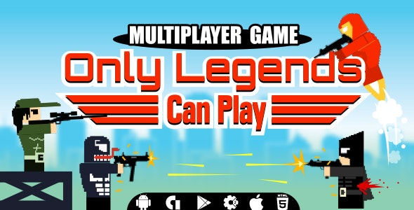 Only Legends Can Play Multiplayer - CodeCanyon Item for Sale
