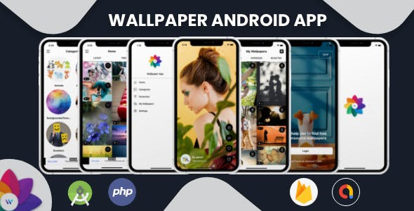Wallpaper - Android App with Admin Panel