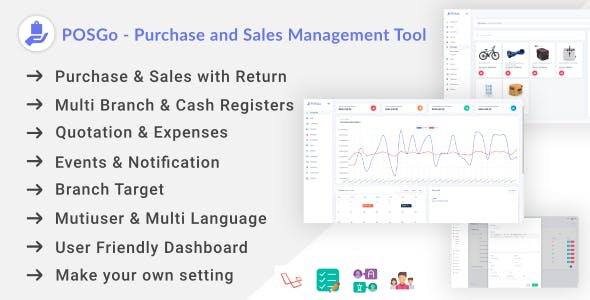 POSGo - Purchase and Sales Management Tool