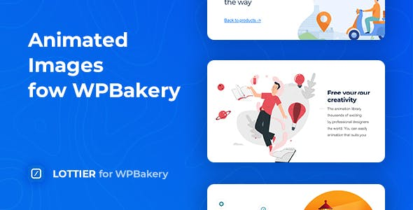 Lottier – Lottie Animated Images for WPBakery