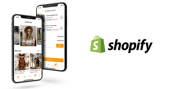 Shopify App for iOS and Android - E-Commerce Mobile App for Shopify