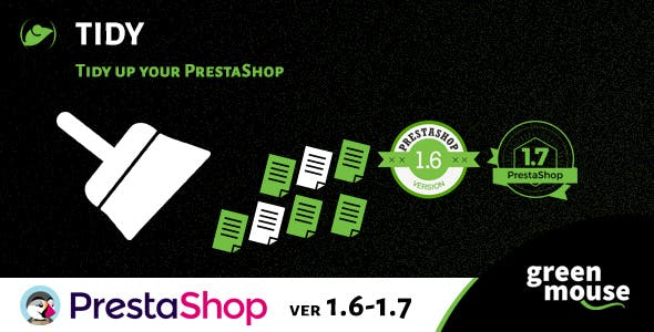 Prestashop Tidy - Cleaning, Optimization and Speed Up