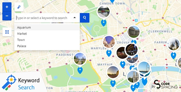 Progress Map, Keyword Search - CodeCanyon Item for Sale