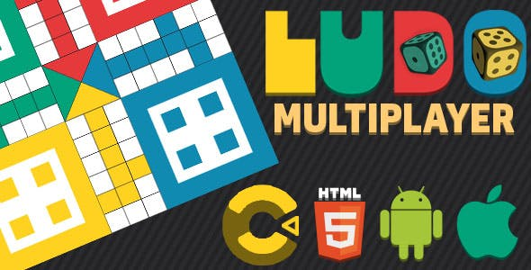 Ludo Local Multiplayer Board Game - Construct 3