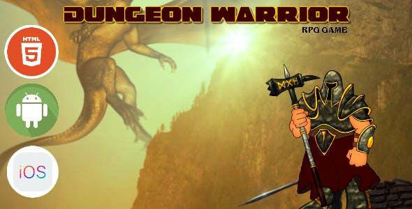 Dungeon Warrior - HTML5 Game - HTML5 Website