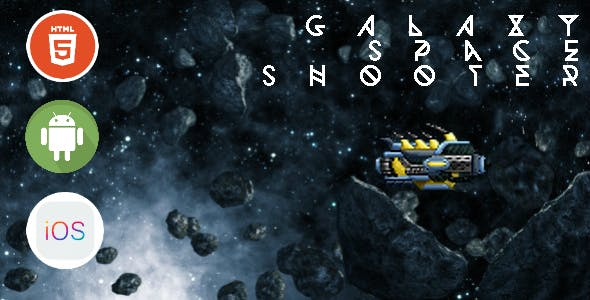 Galaxy Space Shooter - HTML5 Game - HTML5 Website