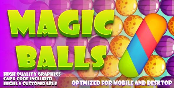 Magic Balls (HTML5) games.